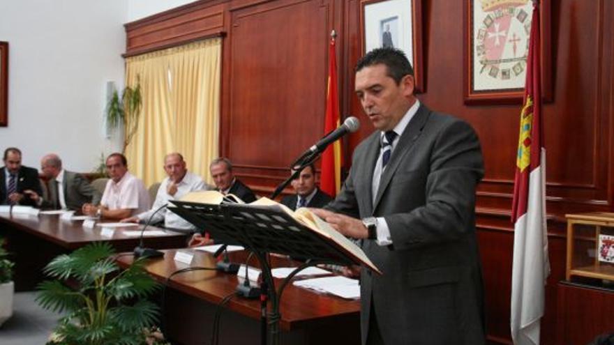 Santiago Lucas-Torres, alcalde de Campo de Criptana (Ciudad Real), presidente de la Federación de Municipios de CLM / Foto: Ayuntamiento de Herencia