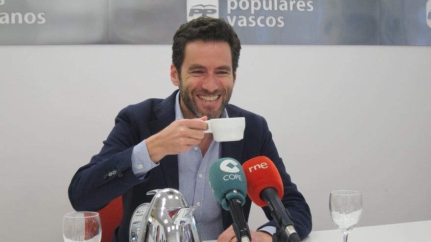 """Sémper (PP) afirma que """"están hablando y se va a seguir hablando"""" con el PNV para acordar los PGE de 2018"""