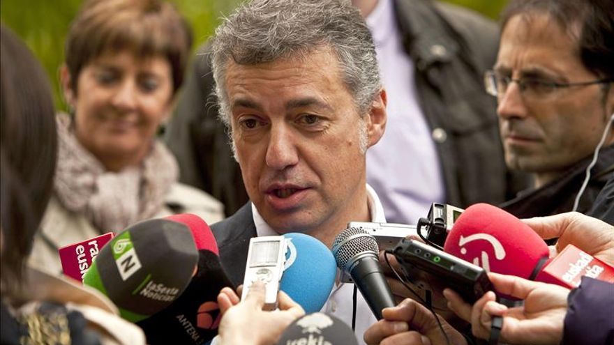 """Urkullu pide """"disposición"""" a los partidos para un """"gran acuerdo de país"""""""