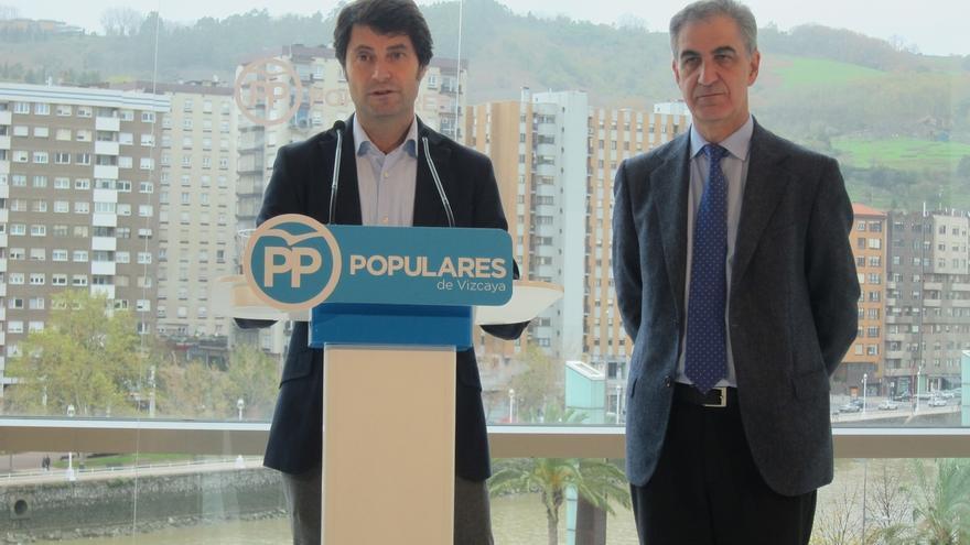 """PP cree que PNV tiene """"tiempo de rectificar"""" y sumarse al pacto antiyihadista y pregunta """"a quién no quiere incomodar"""""""