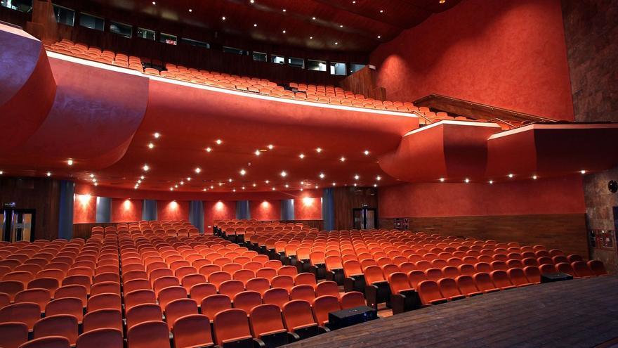 El teatro Gaztambide de Tudela, uno de los espacios escénicos de Navarra