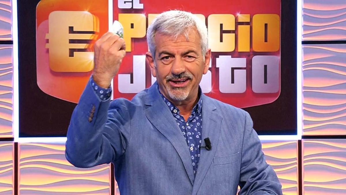 Carlos Sobera en 'El Precio Justo'