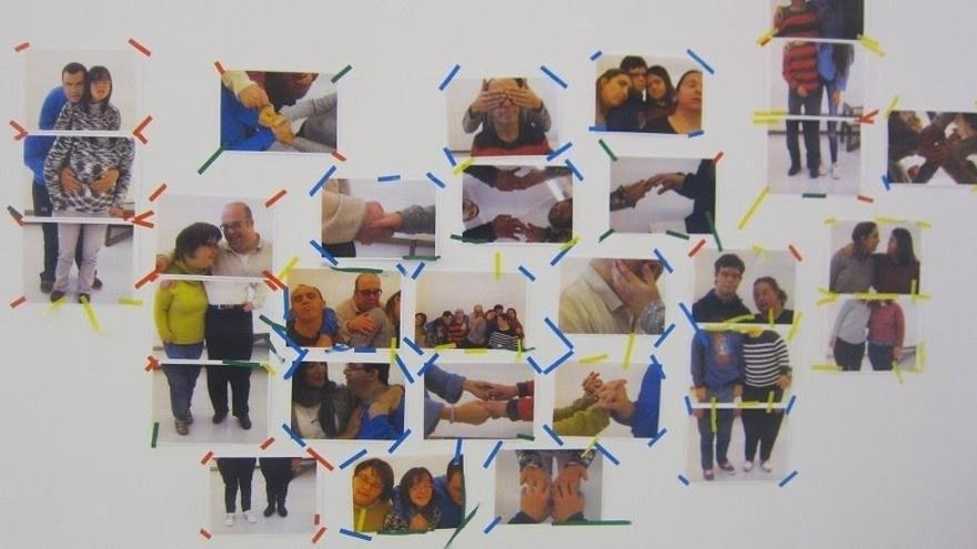 La Sala Rekalde acoge una muestra en colaboración con la Fundación Síndrome de Down del País Vasco