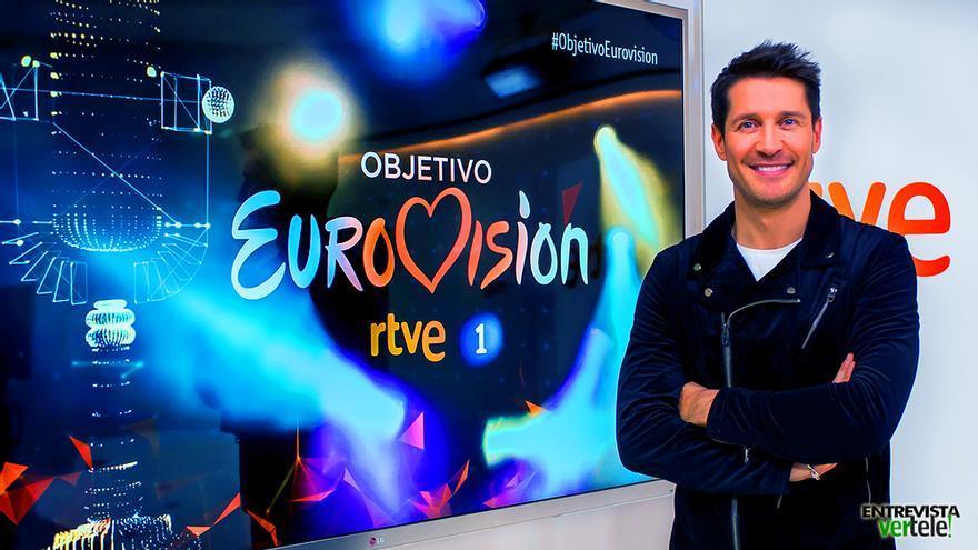 Jaime Cantizano presenta 'Objetivo Eurovisión' en TVE