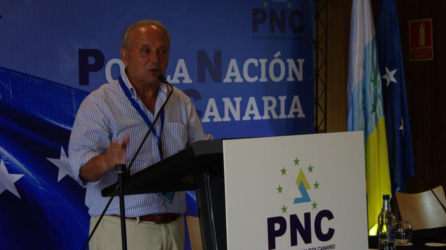 Juan Manuel García Ramos, reelegido presidente del Partido Nacionalista Canario.