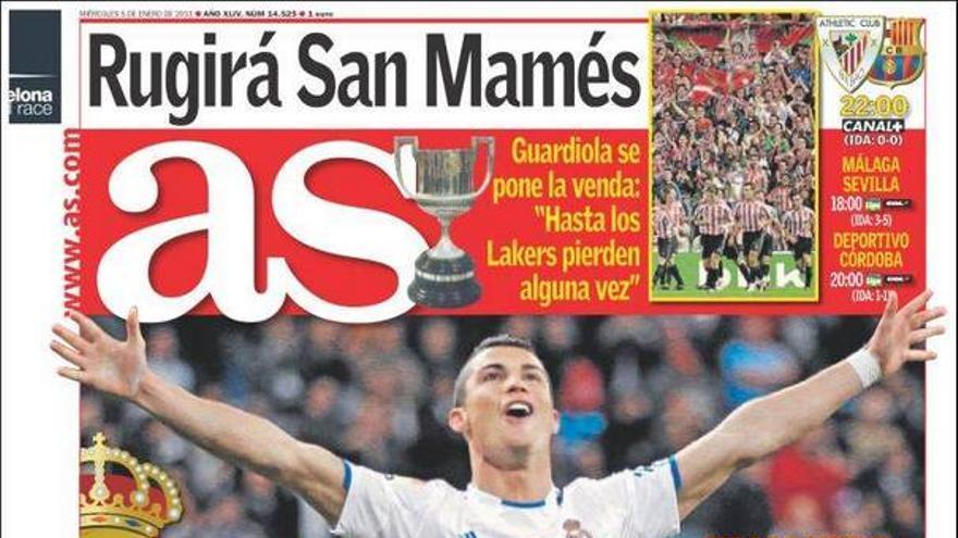 De las portadas del día (05/01/2011) #12