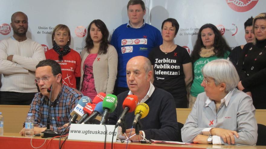 """Arza ve prioritario """"fortalecer"""" la posición de UGT-Euskadi en las empresas y pide un pacto fiscal que aumente ingresos"""