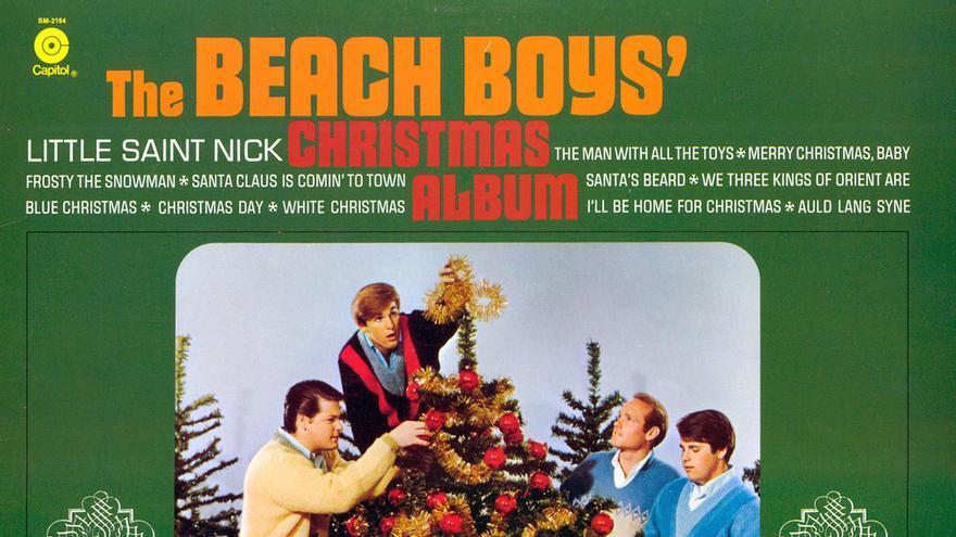 Portada del disco navideño de The Beach Boys