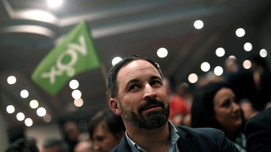 """Santiago Abascal (Vox): """"No estábamos en el debate y lo protagonizamos"""""""