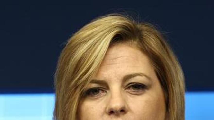 La secretaria de Política Internacional del PSOE, Elena Valenciano. (EUROPA PRESS)