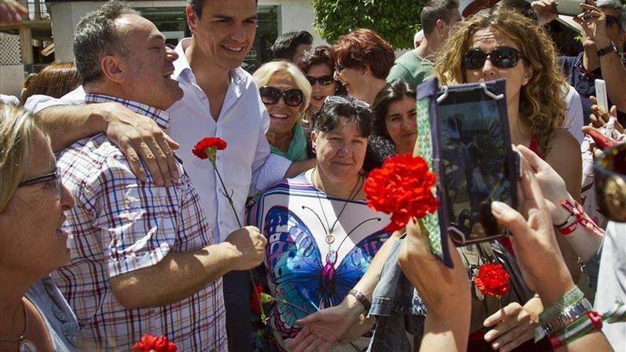 Sánchez afirma que lo mejor que le ha pasado a España ha venido de la mano del PSOE