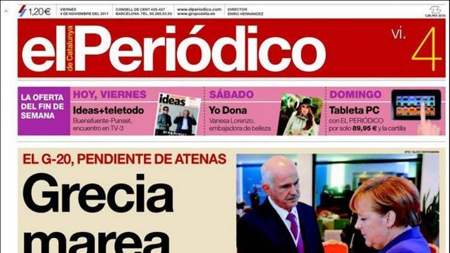 De las portadas del día (04/11/2011) #9