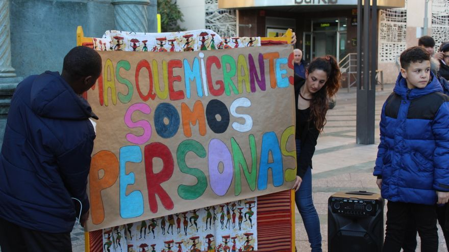 Foto de la última actividad de Cardijn con motivo del Día Internacional del Migrante de la semana pasada.
