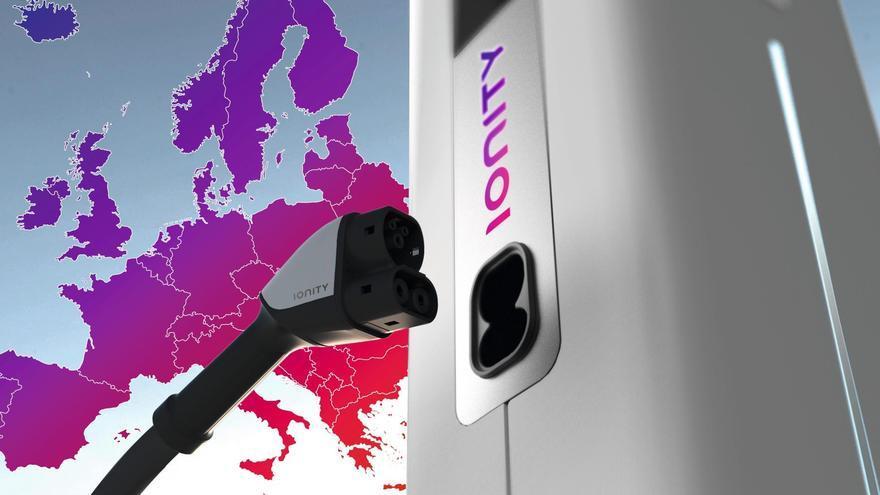 Nueva 'joint venture', denominada Ionity, de supercargadores.