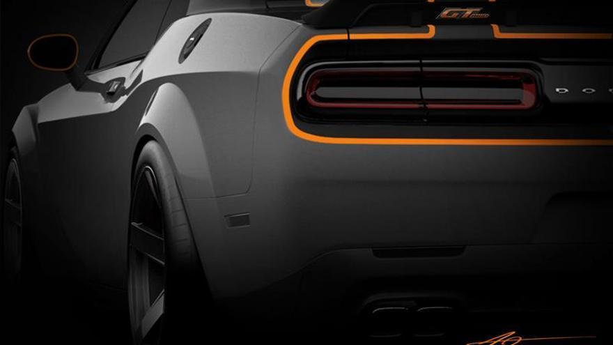 Fiat Chrysler exhibe en Las Vegas el Dodge Challenger GT con tracción total