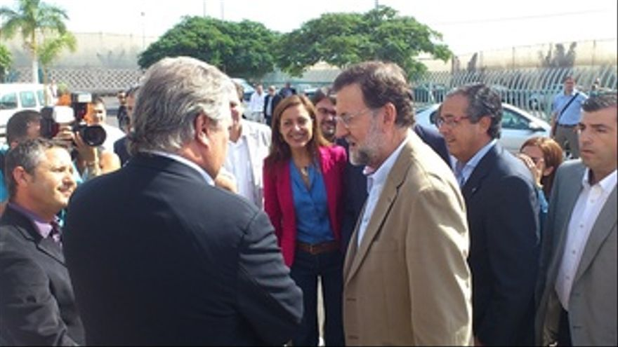 Mariano Rajoy En Tenerife