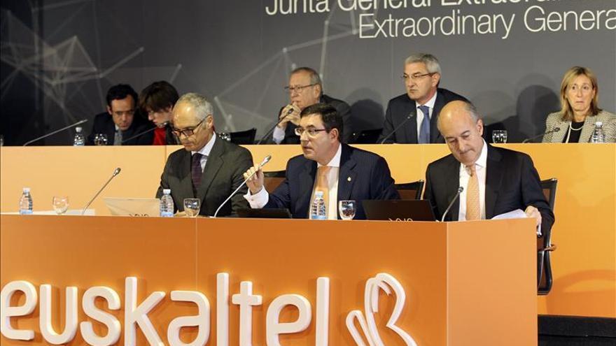 Euskaltel amplia en 250 millones su capital, a 10,08 euros por acción