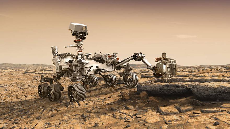 El nuevo 'rover' Curiosity que la NASA mandará a Marte