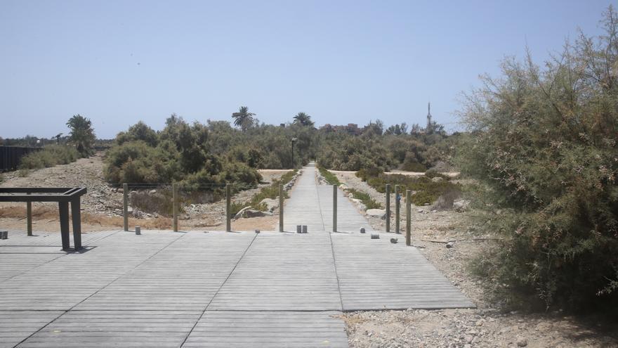Parque Tony Gallardo en Maspalomas