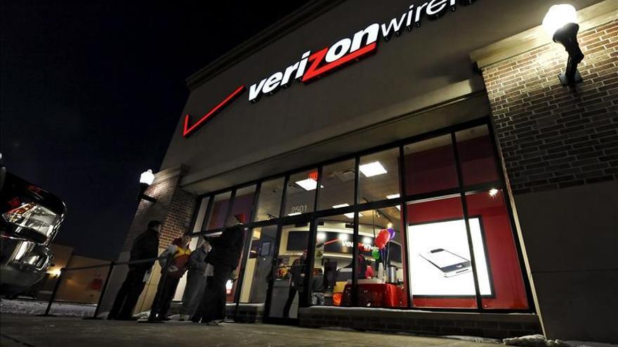 Los beneficios de Verizon bajan un 27,5 por ciento en el primer trimestre