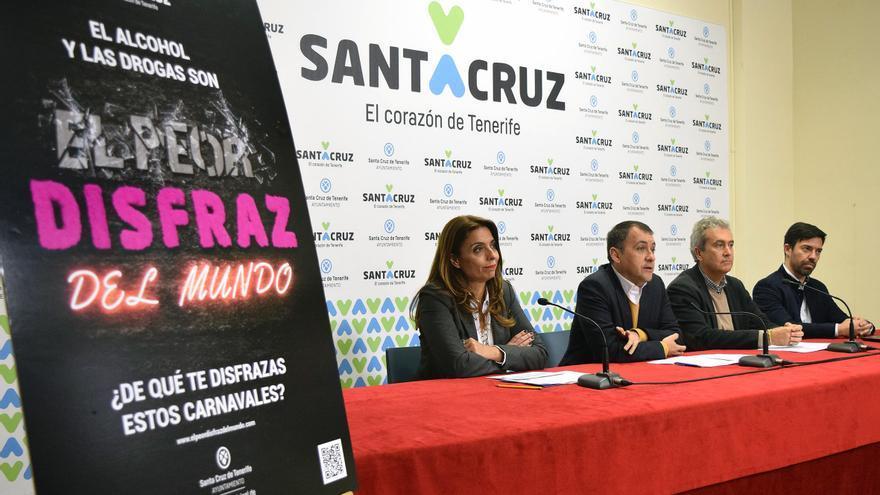 Presentación de la campaña, este miércoles en el Ayuntamiento de Santa Cruz