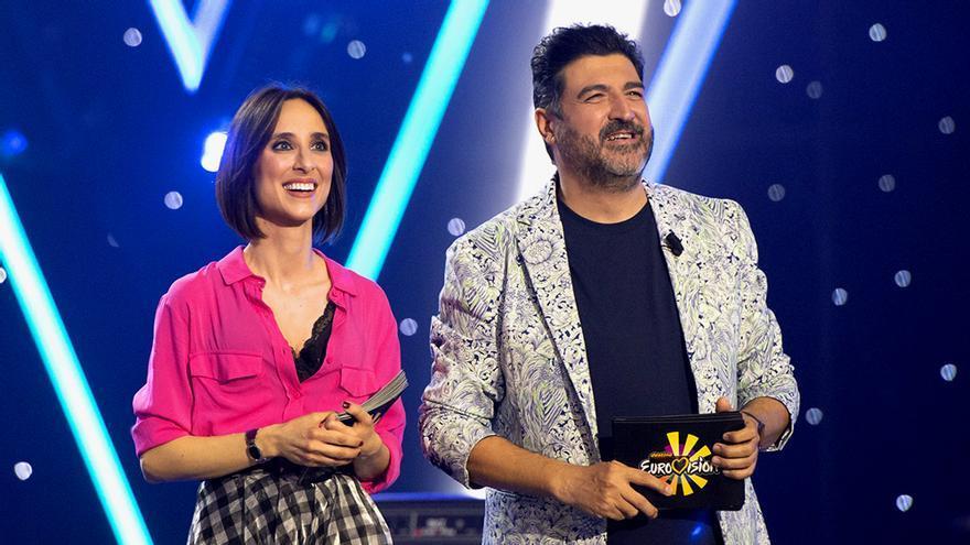 Julia Varela y Tony Aguilar, en una imagen de archivo