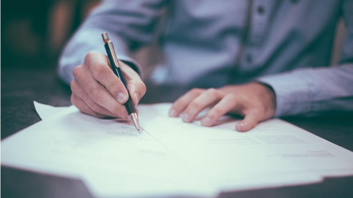 Firma de un documento