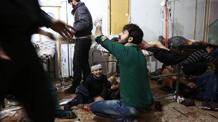 Se elevan a 60 los muertos por ataques en Damasco y su periferia