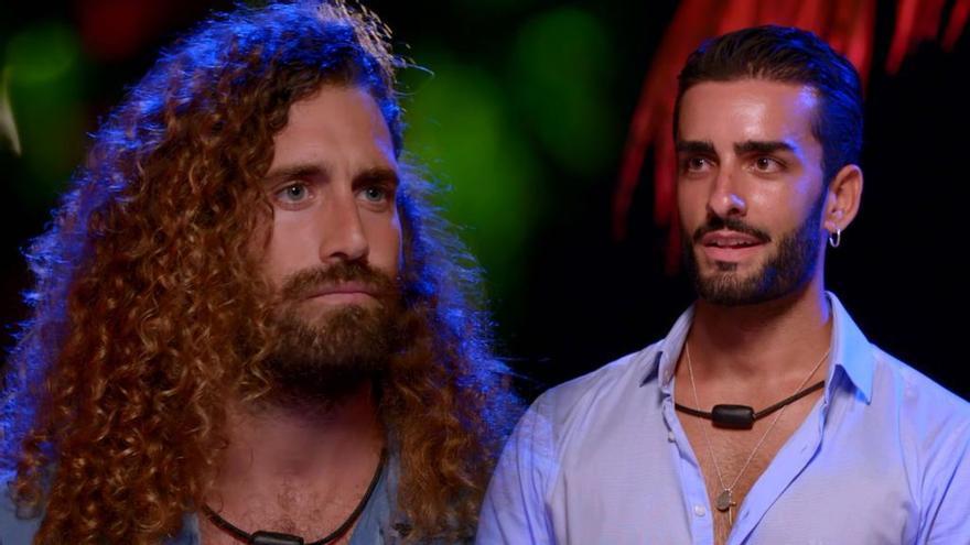 Toni, frente a Raúl en 'La isla de las tentaciones 3'