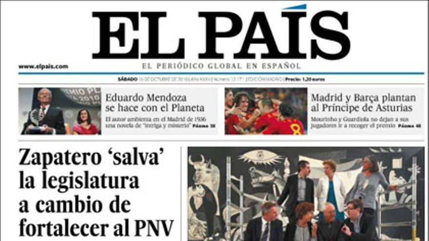 De las portadas del día (16/10/2010) #7