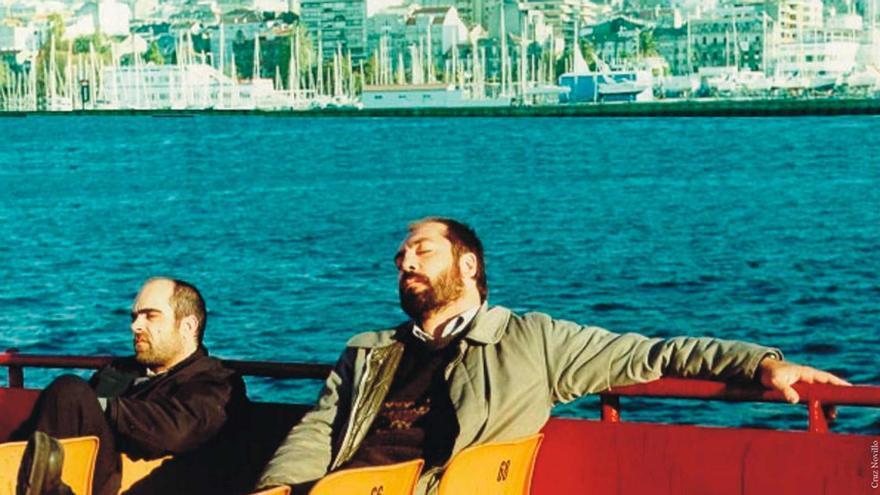Una imagen de la película Los lunes al sol, que inspiraron Cándido y Morala