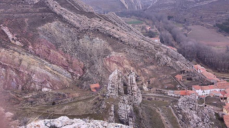 Parque Geológico de Aliaga (Teruel).