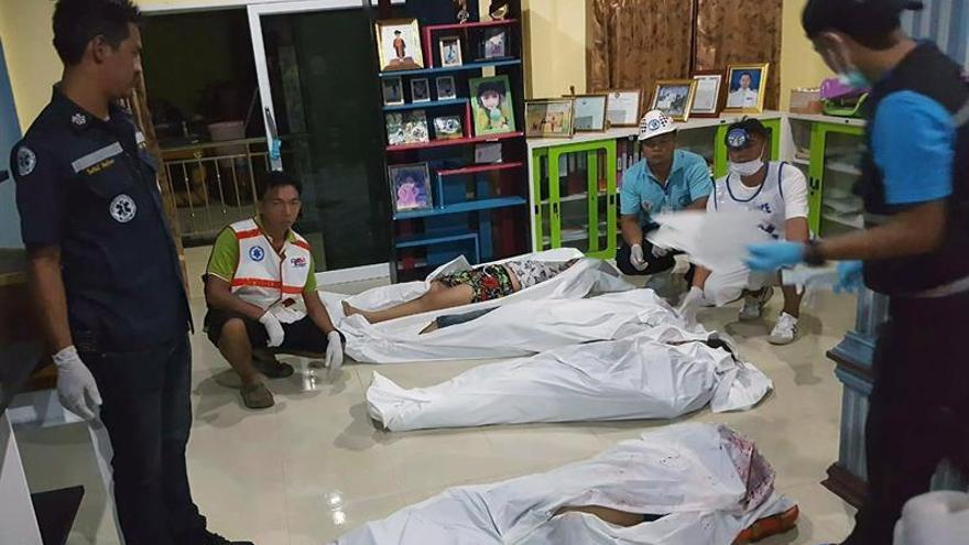 Ocho muertos y tres heridos en Tailandia por una disputa de tierras