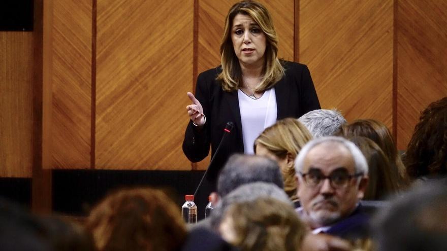 """Susana Díaz defiende que Chaves y Griñán son """"honestos y decentes"""": """"Algunos tendrán que pedir perdón"""""""