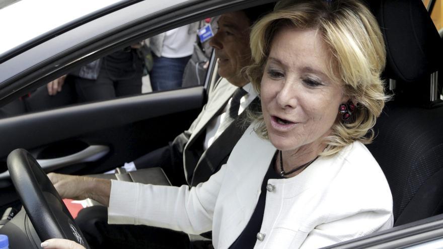 """Esperanza Aguirre dice que está """"estupendamente bien"""" y que lleva esperando este momento 30 años"""