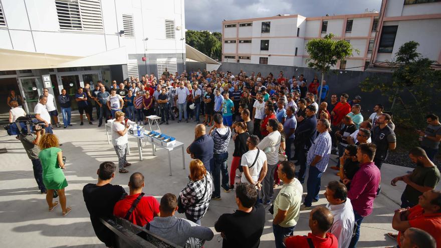 220 personas aspiran a entrar en una lista de reserva para trabajadores municipales de LPGC.