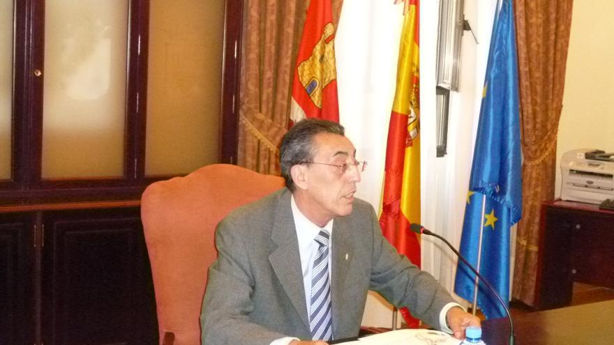 Bienvenido Mena Merchán, durante su etapa como delegado territorial de la Junta de Castilla y León en Salamanca.
