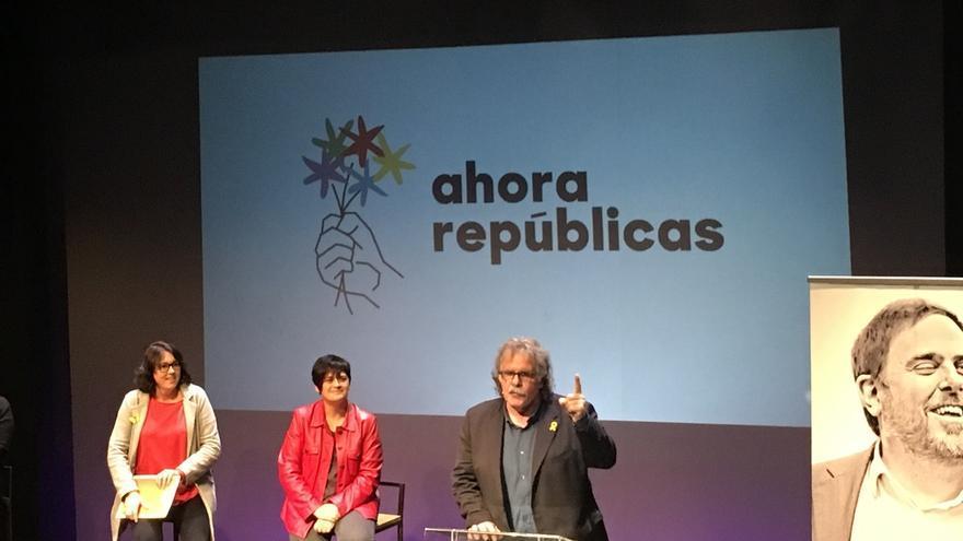 ERC, BNG y EH Bildu presentan la coalición 'Ahora Repúblicas' a las europeas con Junqueras como cabeza de lista
