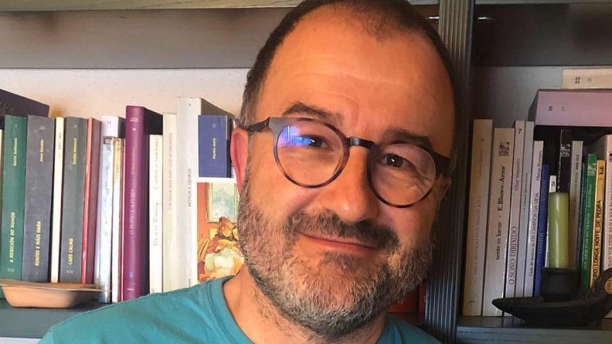 El portavoz de la Plataforma Galega en Defensa da Universidade Pública Suso Bermello