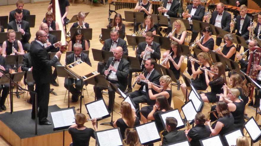 La banda belga Koninklijke Harmonie van Peer