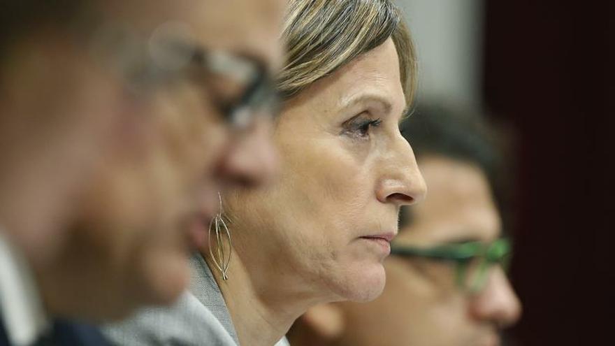El Tribunal Constitucional dice que procedió la prisión preventiva de Forcadell por el riesgo de fuga