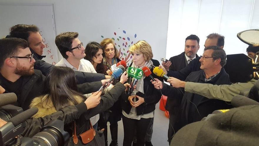 Ahora Madrid y PSOE pedirán en el Pleno la dimisión de Aguirre como concejala