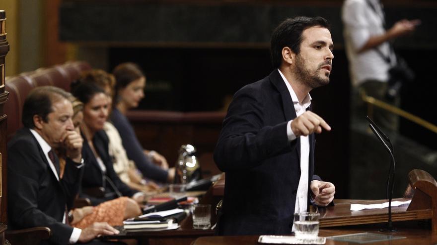 """Alberto Garzón se muestra """"partidario"""" del revocatorio en Venezuela y dice que """"ojalá existiera en España"""""""