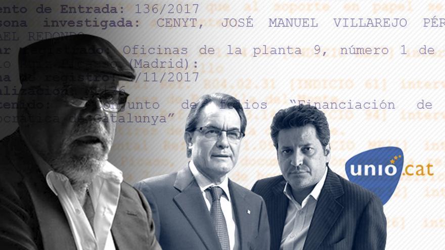 Tres informes incautados a Villarejo sobre Mas, Vinyals y Unió permanecen bajo secreto
