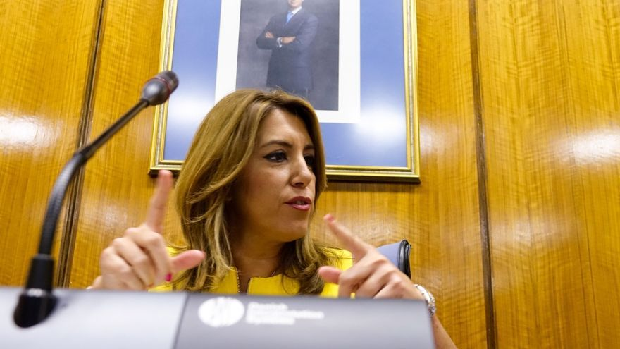 """Susana Díaz anuncia un Presupuesto """"expansivo"""" para 2018 y confía en un acuerdo con Cs que garantice estabilidad"""
