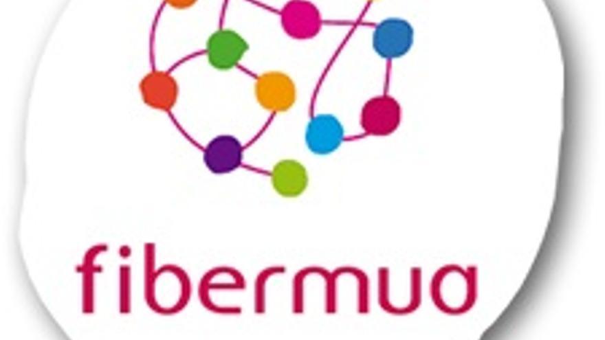 El logotipo de Fibermua