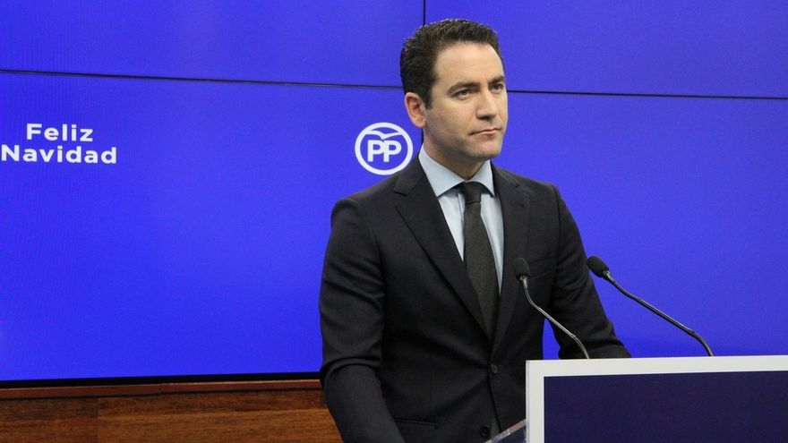 """García Egea llamará hoy a Vox, pero advierte de que el cambio es más importante que cambiar """"una coma de un documento"""""""