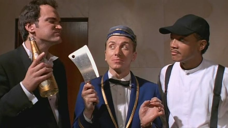 "Fotograma de ""Four Rooms"""