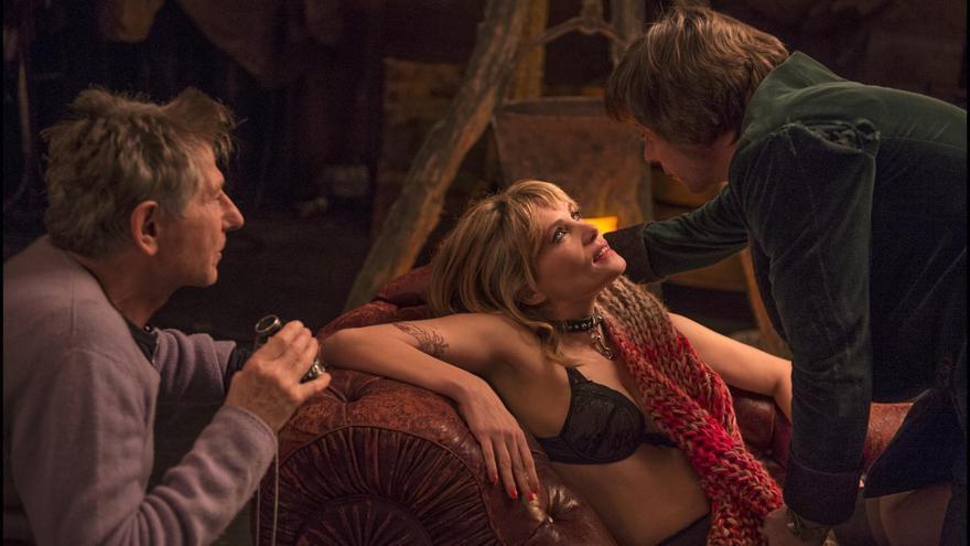 Polanski pone a su mujer en el escenario con su doppelgänger