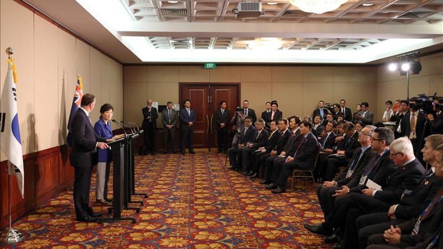 Nueva Zelanda y Corea del Sur firman un TLC en el marco de la cumbre del G20